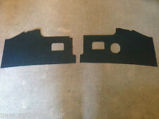 VW Camper T2 Early Bay Interior Kick Panels 1968-71 Quality Black BUS VAN Type 2