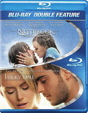 NEW The Notebook/ The Lucky One (Blu-ray Disc, 2014, 2-Disc Set)