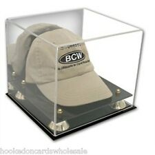 1 BCW Deluxe Hat Cap Holder Acrylic Display Case UV Protection