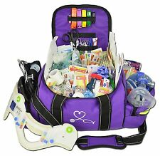 Deluxe First Aid Medical Emergency Trauma Kit Supplies Bag EMT EMS Responder NEW