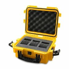 Invicta Three-Slot Yellow Durable Plastic Watch Case DC3YEL