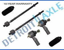 NEW 6pc Inner and Outer Tie Rod End + Boot Kit for Ford Escort Mazda 323 Protege