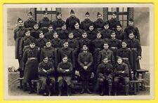 cpa Carte Photo Militaire Caserne SOLDATS du 71e Régiment Etoile 71 sur Beret