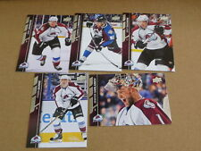 2015/16 15 Upper Deck SERIES 1 COLORADO AVALANCHE TEAM SET LOT OF 4 COMPLETE