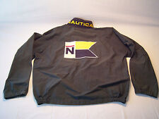 Vintage 90's Nautica Competition Fully Zip Wind Breaker Jacket Men's Size XXL
