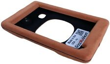 NUVI 3597lmthd Cover Faux Suede Apricot Case Made in the USA by GizzMoVest LLC