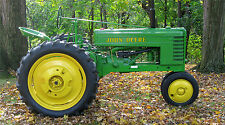 "JOHN DEERE MODEL H ANTIQUE 1941 TRACTOR 24"" x 43""  LARGE HD WALL POSTER PRINT"