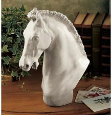 POWER & GRACE STALLION HORSE HEAD 18TH CENTURY REPLICA SCULPTURE STATUE NEW