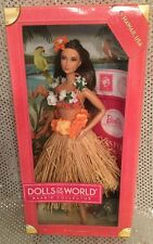 HAWAII  BARBIE DOLLS OF THE WORLD DOTW PASSPORT COLLECTION W3443 2011 MINT NRFB