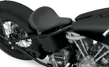 Drag Specialties Spring Solo Seat Black Leather Large Rigid Custom Harley Bobber