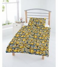 Despicable Me Minions Rotary Junior Cot Bed Duvet Quilt Cover Set Brand New