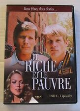 DVD LE RICHE ET LE PAUVRE - Peter STRAUSS / Nick NOLTE - N°1 - 2 EPISODES