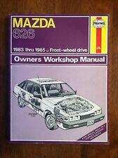 HAYNES REPAIR MANUAL Mazda 626 1983 thru 1985 L@@K WOW!!!