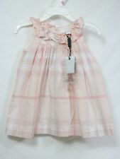 Burberry Baby Dress 12 month old w/ classic Plaids & Checks 100% cotton