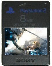 FINAL FANTASY - MEMORY CARD SAVES PS2 VII 7 8 9 X XII VIII 6 IV Original PS1