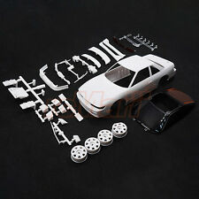 Kyosho Mini-Z AWD NISSAN SILVIA S13 White Body Set w/Wheel EP RC Cars #MZN178