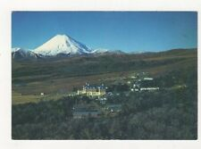 Mt Ngauruhoe Whakapapa Village New Zealand Postcard 932a