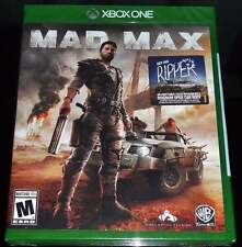 NEW Mad Max (Microsoft Xbox One, 2015) Video Game w/ Get the Ripper DLC