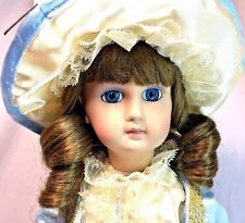 "Kingstate Crafter Prestige Collection LE 929/3500 Nicole 16"" Porcelain Doll"
