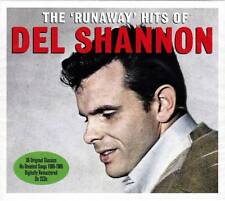 DEL SHANNON - THE RUNAWAY HITS OF - HIS GREATEST HIT 1960-1965 (NEW SEALED 2CD)