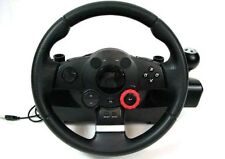 LOGITECH DRIVING FORCE GT RACING/STEERING WHEEL FOR GAMING PLAYSTATION 2 3 & PC