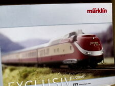 Depliant MARKLIN Exclusive 1/2005 - FRA  -  [TR.27]