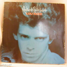 "33 T  VINYL LOU REED "" ROCK AND ROLL HEART """