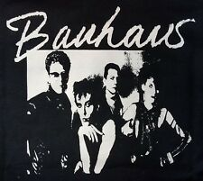 BAUHAUS GOTHIC BLACK CANVAS BACK PATCH
