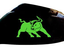 Bull Raton Car Sticker Wing Mirror Styling Decals (Set of 2), Neon Green