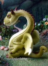 Miniature Green Dragon 4537 Fairy Garden Figurine
