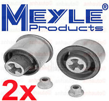 Set 2 Meyle Rear Axle Beam Trailing Arm Bushing Kit Audi TT Beetle Jetta Golf