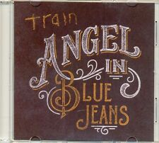 TRAIN - Angel in blue jeans 1TR DUTCH ACETATE PROMO CD 2014 POP ROCK