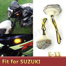 2xLED Smoke Flush Mount Turn Signal Light For Suzuki GSXR mini Turn Signal