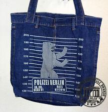 S20. BERLIN MUGSHOT Jeans Denim Shopping Bag Marionelli Tasche Stofftasche