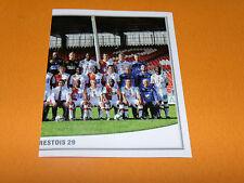 81 EQUIPE PART 2 STADE BRESTOIS BREST 29 PANINI FOOT 2011 FOOTBALL 2010-2011