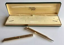 Rare Vintage WAHL Eversharp Pen & Pencil Set Gold Filled Solid 14K Nib #2