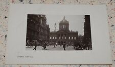 Old RP Postcard: Town Hall, Liverpool, 1908