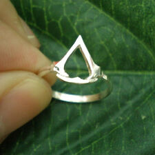Handmade 925 Silver Assassin Creed Ring - Gamer Geek Sizable US 7 - US 14