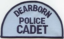 DEARBORN MICHIGAN MI Police Cadet POLICE PATCH