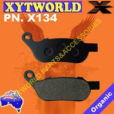REAR Brake Pads for Harley Davidson FXDC Dyna Super Glide Custom 2007-2012