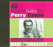 Encore of Golden Hits by Perry Como (CD, 2007, Music Products BV)