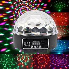 Crystal Magic Ball Laser Stage Light RGB Party Disco DJ Bar Lighting Show DMX