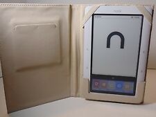 Barnes & Noble Nook White Wi-Fi 1.7.0 Book Tablet Reader 1st Edition W/Case