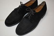 Cole Haan Black Suede Oxford Dress Shoes Size 9 D Made in Italy