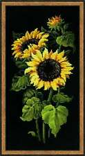 "Counted Cross Stitch Kit RIOLIS - ""Sunflowers"""