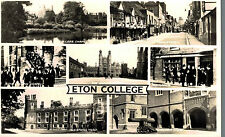 RPPC,Eton College,Near Windsor,U.K.7 Views,Bershire,c.1909