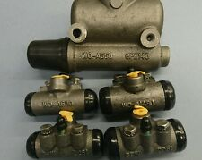 BRAKE CYLINDER SET WILLYS MB FORF GPW INCLUDES MASTER AND WHEEL CYLINDERS