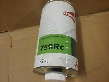 DuPont Cromax Universal Putty  759RC   2kg Cartridge  2K Bodyfiller Stopper