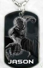 SPIDERMAN - Dog tag Necklace/key chain + FREE ENGRAVING