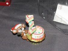 * Carlton Cards Christmas Ornament Christmas Sweets 1997 Stamped
